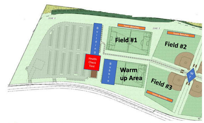 2020 College Showcase Facility Map