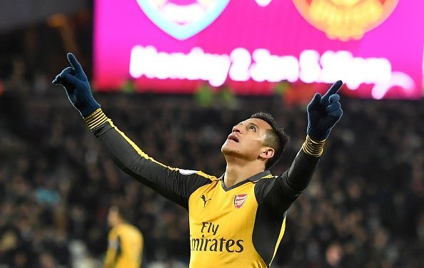West Ham 1-5 Arsenal, Sanchez steals the show
