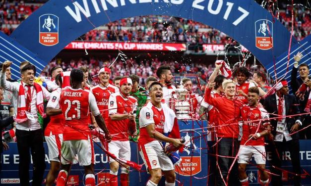 Cup Final Report – Arsenal 2-1 Chelsea
