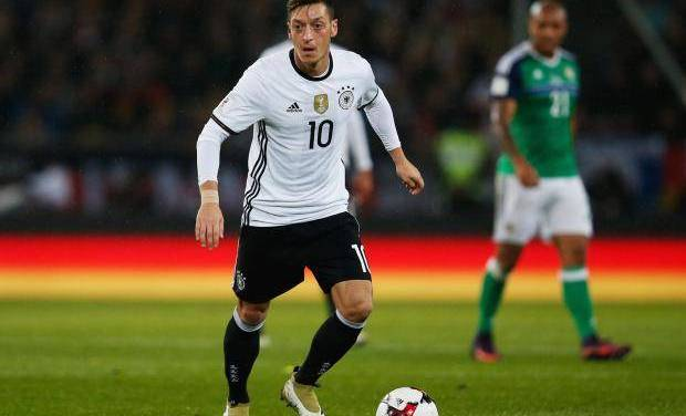 Ozil struggling to be fit as German team mates come to blows
