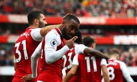 Back to winning ways – Arsenal 4-1 Palace