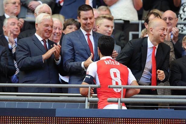 Kroenke Junior jets in for 3 month review of Arsenal ahead of shake up