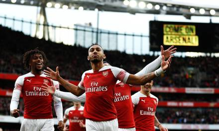 Aubameyang Unhappy at Watching from the Sidelines
