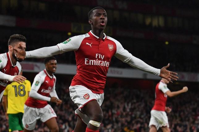 Nketiah Set for Bristol City as Arsenal Team Slips Up?