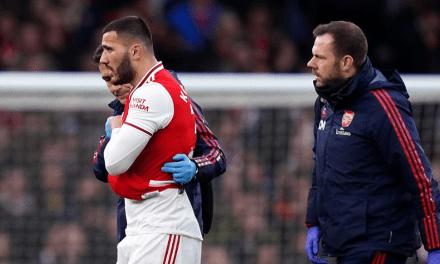 Another Injury Blow for Arteta as Kolasinac Gets Injured Again