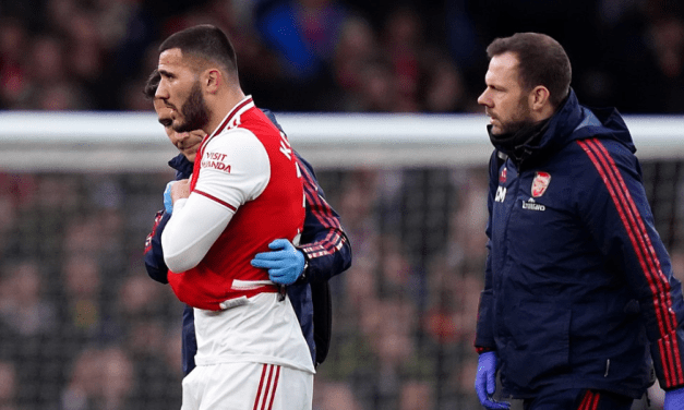 Another Injury Blow for Arteta as Kolasinac Gets Injured Again
