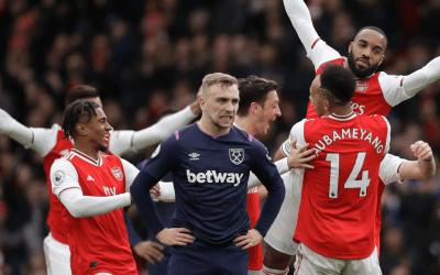 Arsenal vs West Ham Team News