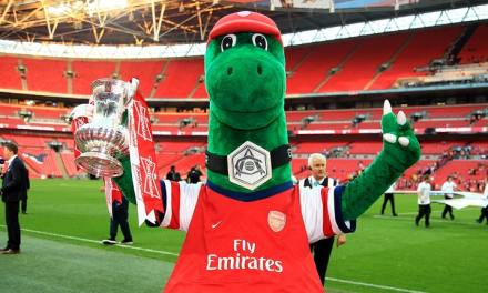 Arsenal Mascot Offers to Play Football to Save Destitute Midfielders Job