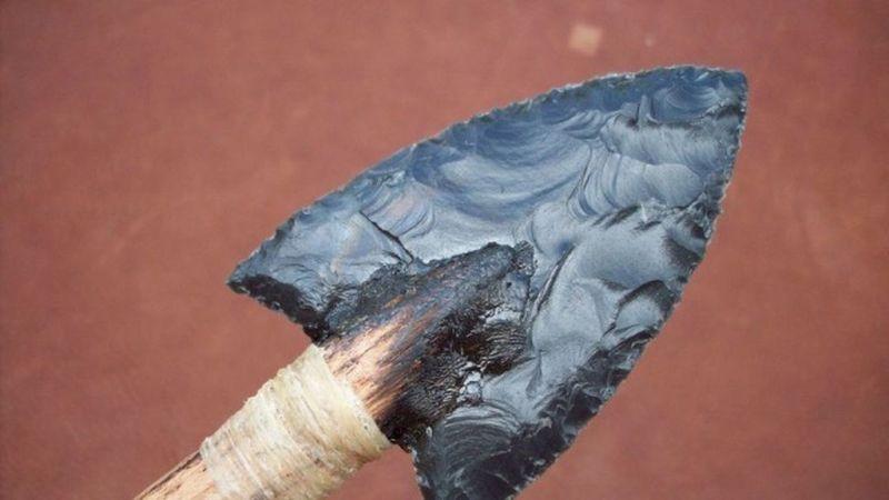 Una flecha indígena.