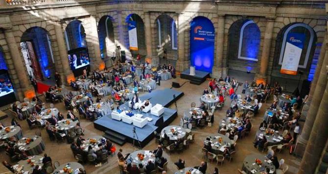 Clausura de la Cumbre Mundial de Líderes contra el Cáncer / EFE