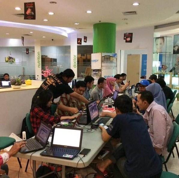 Belajar Bisnis Online di Kebon Pala Jakarta Hub. 087878211823