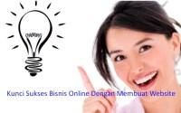 Kunci Sukses Bisnis Online Dengan Membuat Website