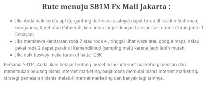 Belajar Bisnis Online di Manggarai Jakarta Hub. 087878211823