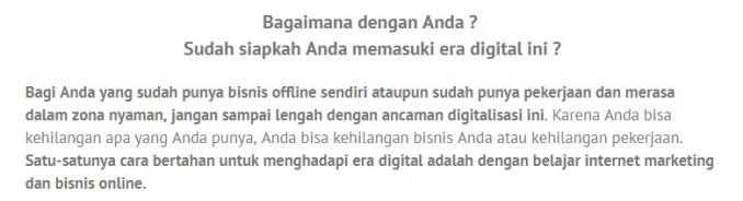 Belajar Bisnis Online di Tanjung Duren Selatan Jakarta Hub. 087878211823