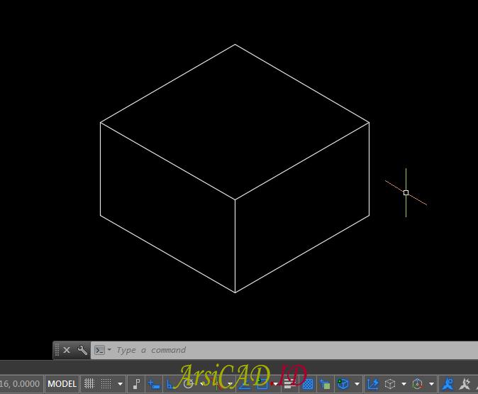 Membuat Gambar Isometric Di AutoCAD : Objek 2D Terlihat Seperti 3D ...