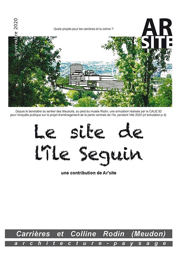 Le site de l'île Seguin, novembre 2020