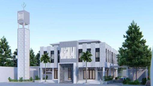 Desain Masjid SMK Muhammadiyah Tarub