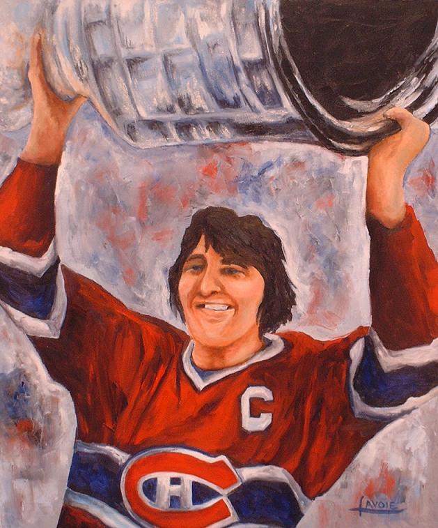 Hockey Paintings