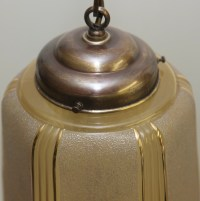 Antique Art Deco Ceiling lamp 1930 Pendant Light Art ...