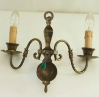 Antique Wall Lamp Brass Baroque Style Fish Led Wall Light ...