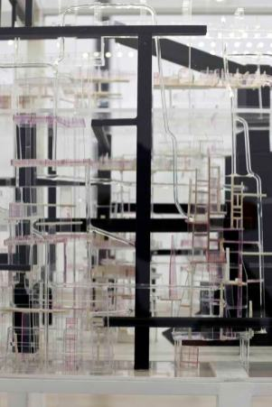Détail Swan, 2012-2013 Techniques mixtes, 166 x 166 x 56 cm Collection privée. Courtesy Galerie Eric Dupont, Paris