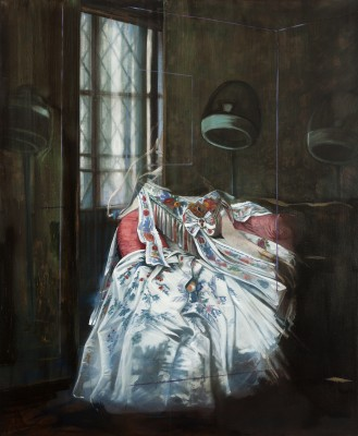 5 Olivier Masmonteil, J.A.D.I. 2, 2013, Oil on canvas, 197 x 163 cm, Courtesy Galerie Dukan