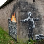 Season's Greetings Banksy street art graffiti