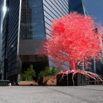 High Line Plinth submission of red tree