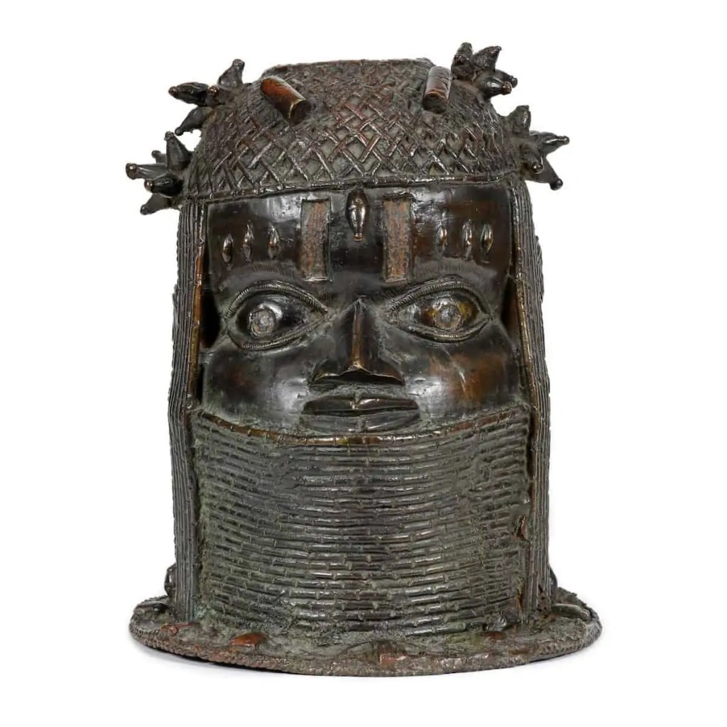 A Benin Bronze held at the University of Aberdeen. Art World Roundup