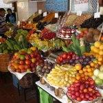 Madère, le marché aux fruits de Funchal