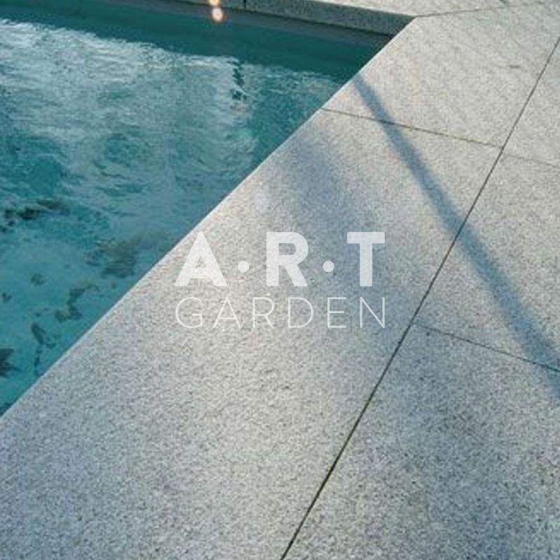 Granit Chinois Gris Mouchet Pour Terrasse