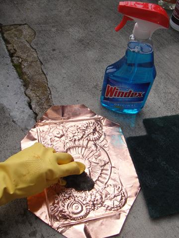 How To Age Copper Using Only Household Cleaners Art