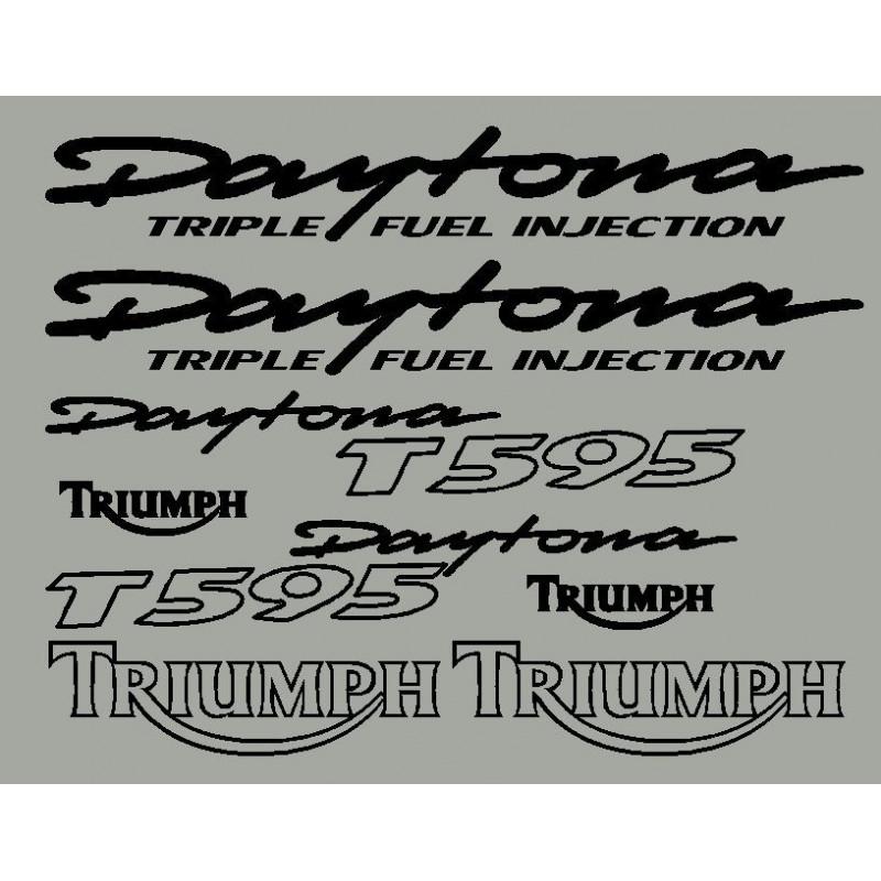 stickers autocollants pour Triumph Daytona T595