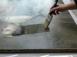 cleaning and protecting art