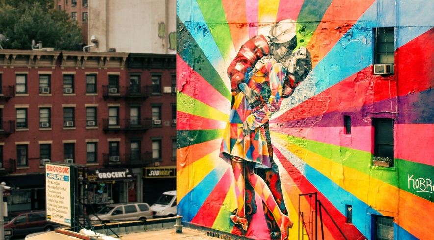 graffiti in new york