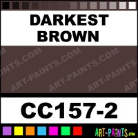 Darkest Brown Cover Coat Underglaze Ceramic Paints - CC157 ...