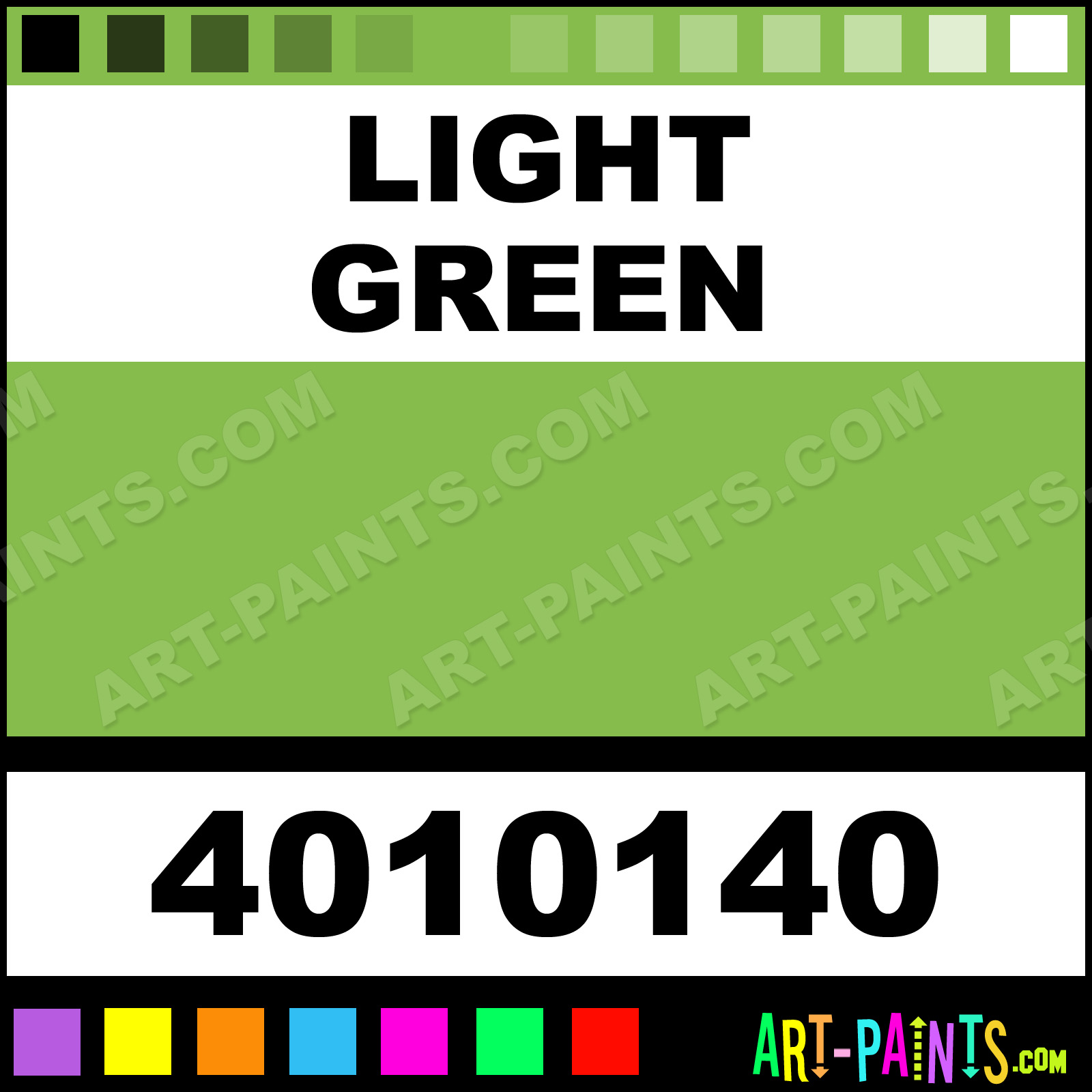 Light Green Bulletin Enamel Paints 4010140 Light Green Paint Light Green Color Chromatic Bulletin Paint 86bc4b Art Paints Com
