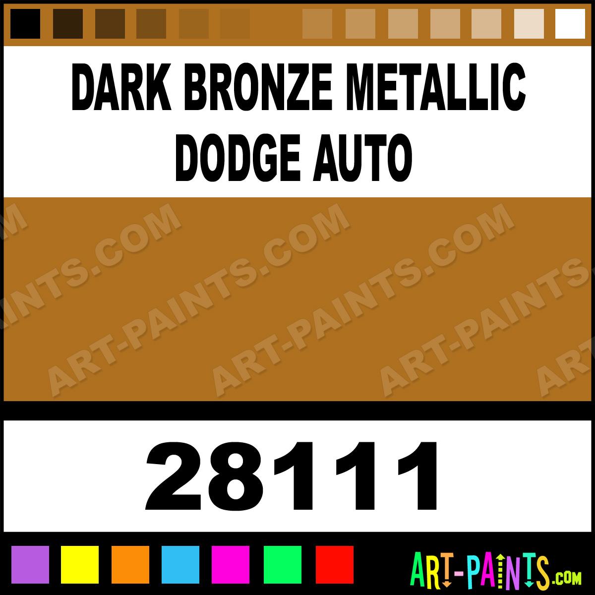 Dark Bronze Metallic Dodge Auto Model Metal Paints and Metallic Paints - 28111 - Dark Bronze Metallic Dodge Auto Paint. Dark Bronze Metallic Dodge ...