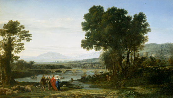 Claude Lorrain - Landscape with Jacob and Laban and Laban's Daughters