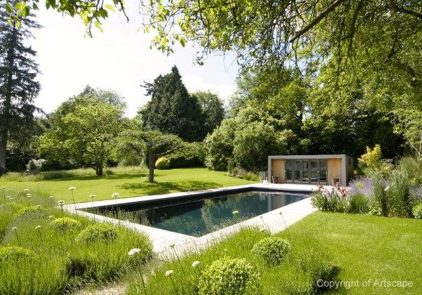 garden design with contemporary
