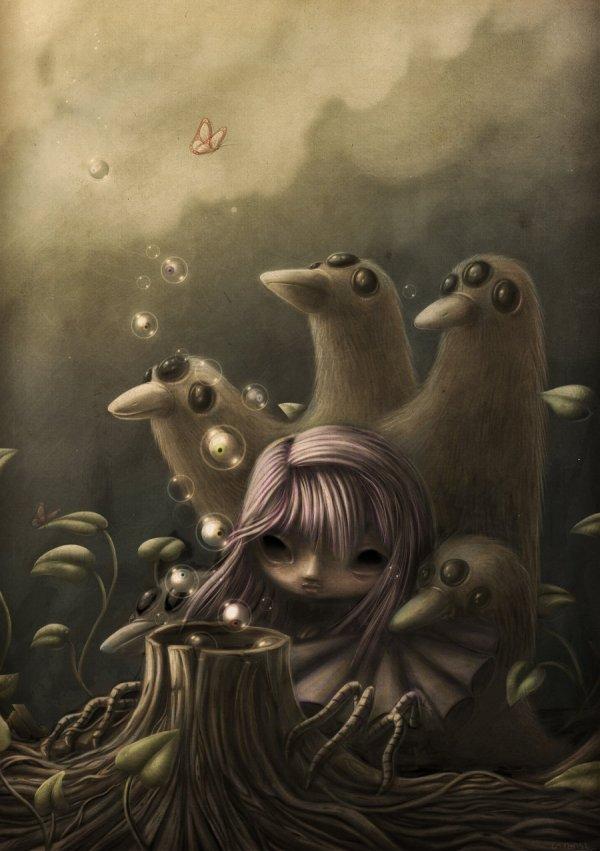 Illustration Art Weird