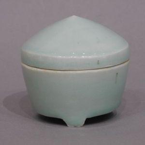 バーナード・リーチ 白磁蓋壺
