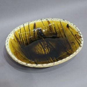 舩木道忠 黄釉鉢