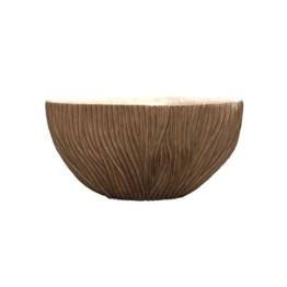 Pot river bowl vase bronze