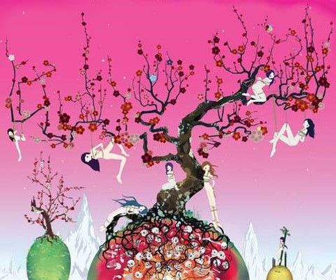 Chiho Aoshima, Japanese Apricot 3 - A pink dream (2007)