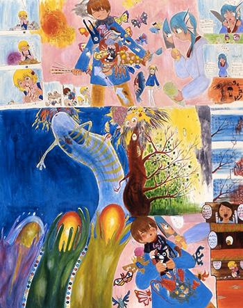 Mahomi Kunikata, The sounds of body and mind freezing (2008)