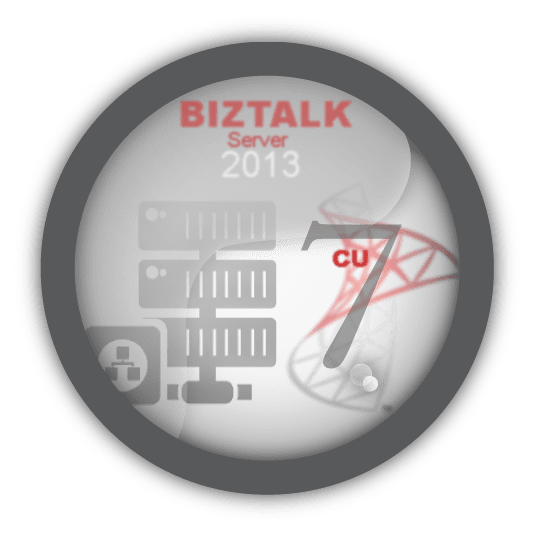 Following BizTalk Server 2013 CU 7