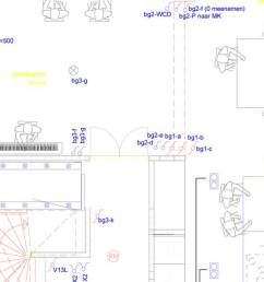 autocad drawing for a light plan [ 1500 x 593 Pixel ]