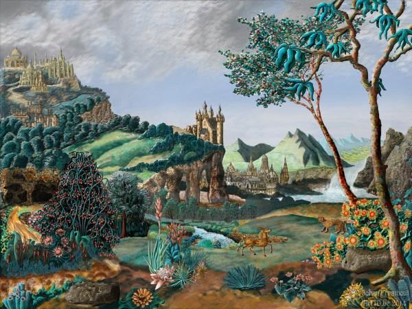 Surreal Baroque Landscape Johan Framhout