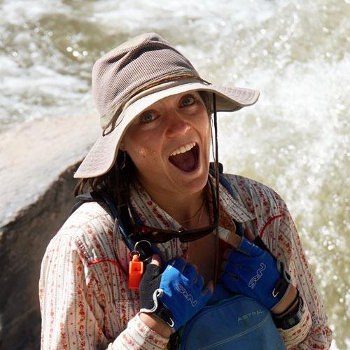 Dawn Canapary, river guide for ARTA River Trips